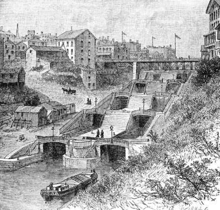 erie-canal-lockport